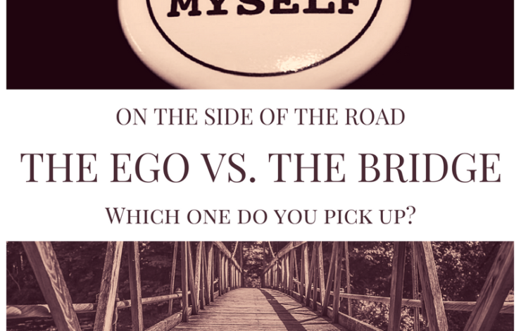 The Ego VS. The Bridge --- Which one do you pick up on the side of the road?